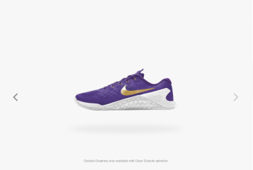 Nike Rendering of Shoe