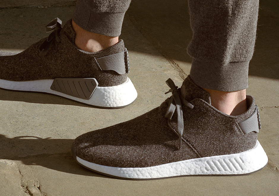 adidas x wings+horns NMD C2, NMD, adidas orginals, wings+horns, primeknit, adidas boost, boost, chukka boots.